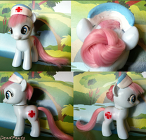 Filly Nurse Redheart Custom by DeadPants