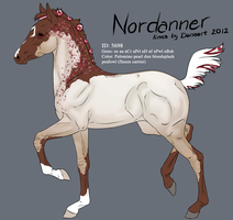 5698 - Nordanner Foal Design by Ikiuni