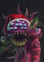 Santa Baron-Nashor (League of Legends) by AleksandraTrezvina