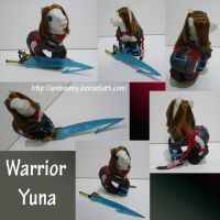 Warrior Yuna by AnimeAmy