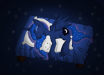 Sleeping Luna by malamol