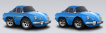 Car Town Renault Alpine A110 edited by Ripplin
