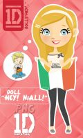 Doll ''Hey Niall'' .PNG by Simpatiica
