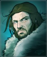 Game of Thrones: Eddard Stark by grantgoboom