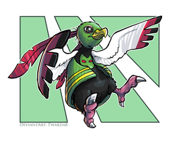 Art Trade - Xatu by Twarda8
