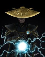 Dark Raiden by OriginalUnoriginal