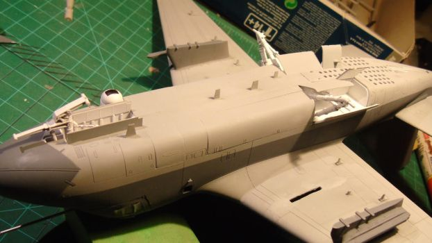 1/48 Scale S-3GC Viking Progress (more paint) by Coffeebean2