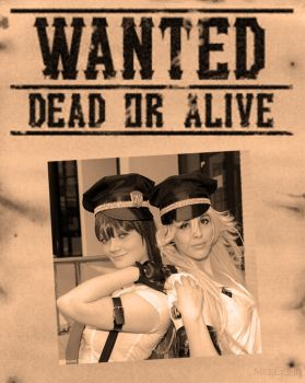 Panty and Stocking - Wanted by MerwillaCosplay