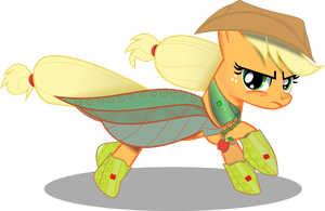 Evergreen Harvester Applejack by ImPlatinum