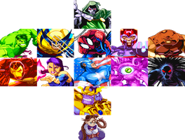 Marvel Super Heroes by hes6789