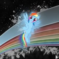 Happy Rainbow Time by dadio46