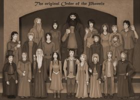 Original Order of the Phoenix by Loony-Lucy