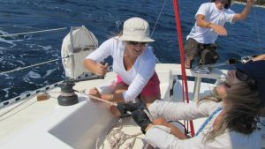 Sailing crew in action by blaze-cro