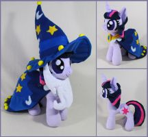 Twilight as starswirl the bearded by MagnaStorm