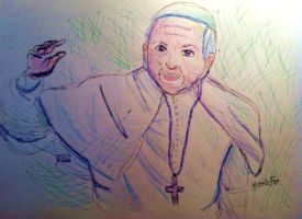 Kickstarter Commission: Pope Francis by FaithWalkers