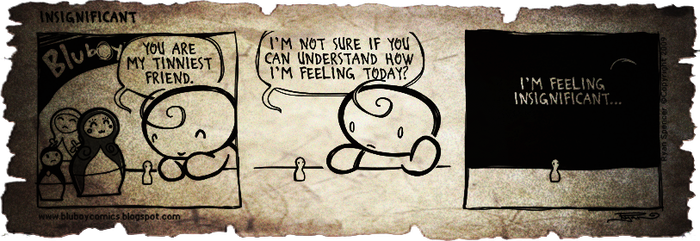 BluBoy: Daily - Insignificant by bluBoyComics