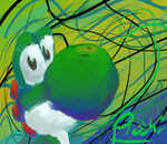 Abstract Yoshi by Proshi
