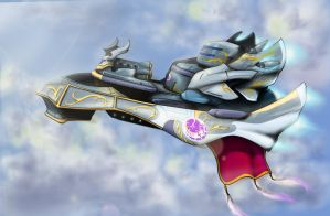 Ceremonial Warship - Valkyrie by devilp3nguin