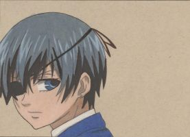 Ciel Phantomhive by arttoinfinity