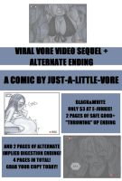 Viral Vore Video Sequel Comic For Sale by Just-A-Little-Vore