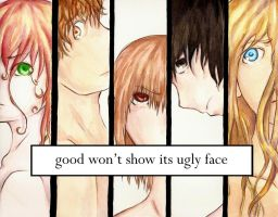 faces by Aileen-Kailum