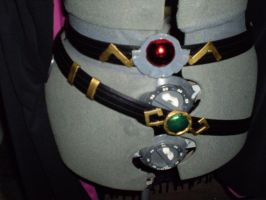 Lina Inverse Cosplay belts by shadowcat-666