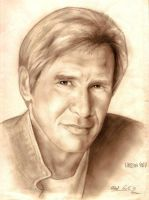 Harrison Ford by Ricardofantasyart