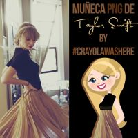 Muneca PNG #O1 [Taylor Swift] by CrayolaWasHere