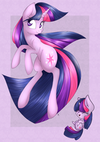 Bronycan't Print: Twilight Sparkle by lilfaux