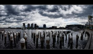 Water Front Spires by WiDoWm4k3r