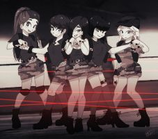 F(X) RED LIGHT by Pulimcartoon