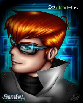Dexter .:Dexter's Lab, Fusionfall:. by XeniaStar