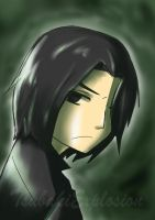 Snape is Glaring At You! by TsubakiExplosion