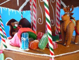 Gingerbread Carosel 3 by DavidArsenault