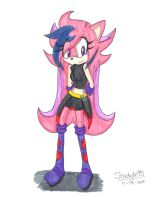 .:Gesshoku the Hedgehog:. by Shadystar95