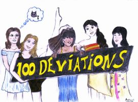 100 Deviations by Andrayah