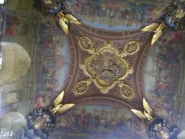 Ceiling in the Louvre by ionshu