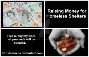 Fundraising collage by Seraena