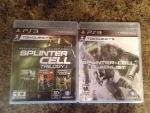 Splinter cell trilogy and blacklist ps3 by balto123