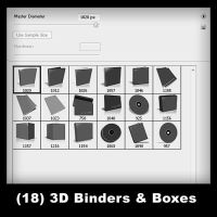 18 - 3D Binders And Boxes by psologist