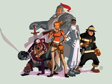 Characters by ChristianNauck