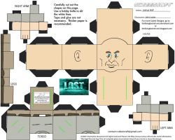 Lost2: John Locke Cubee by TheFlyingDachshund