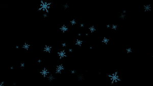 MMD snowflakes (mme) by kkinatv