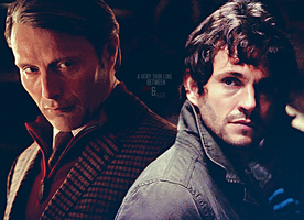 Hannigram:'A Very Thin Line Between Love and Hate' by evansblack