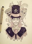 The Voodoo Man: Dr. Facilier by NellaxNutella