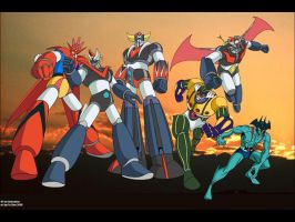 Super Robots Dynamic by FaGian