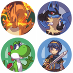 SSB4 buttons part 2 by ClefdeSoll