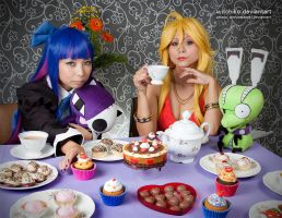 Stocking sweet table:::: by Witchiko