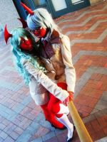 Scanty and Kneesocks by Memento-Mori-San
