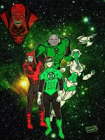 Animated Series Green Lantern by dodero03
